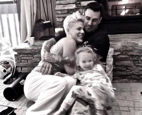 Carey Hart and Pink 10th anniversary Instagram