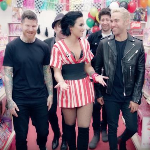 WATCH: Demi Lovato & Fall Out Boy's Video For