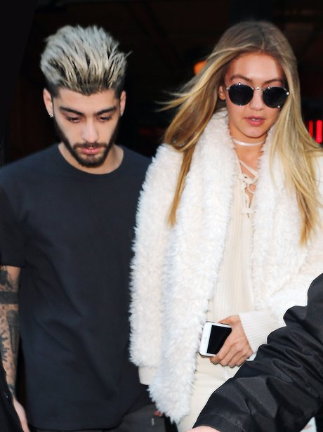 Gigi Hadid and Zayn Malik in NYC
