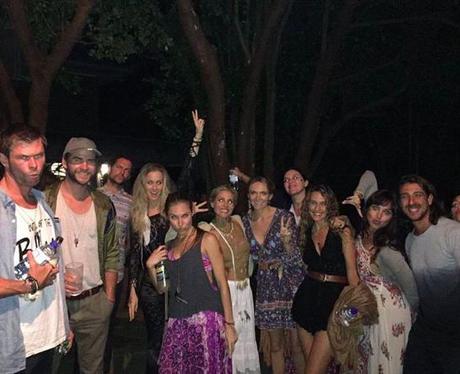 Miley Cyrus and liam hemsworth Instagram