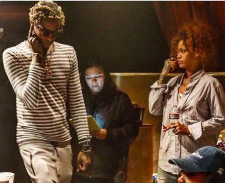 Rihanna and Young Thug