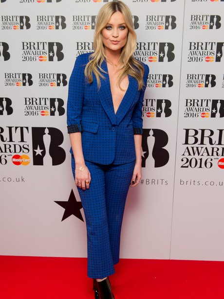 Laura Whitmore The Brit Awards 2016 Nominations
