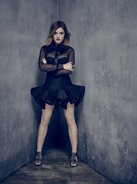 Pretty Little Liars Lucy Hale as Aria Montgomery