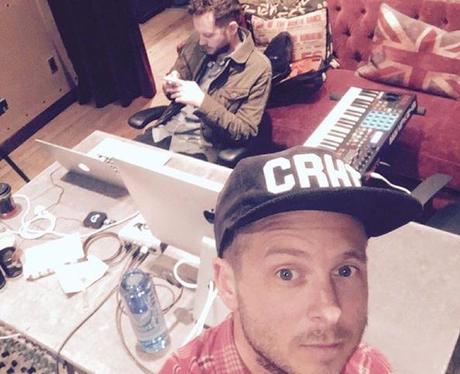 Ryan Tedder OneRepublic Recording Studio Instagram
