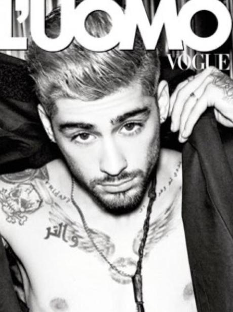 Zayn Malik L'Uomo Vogue Instagram