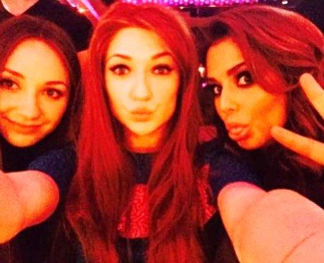 Cheryl & Nicola party selfie