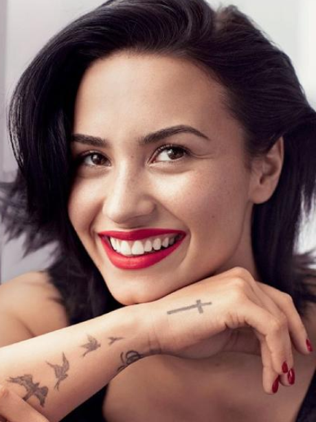 Demi Lovato allure cover