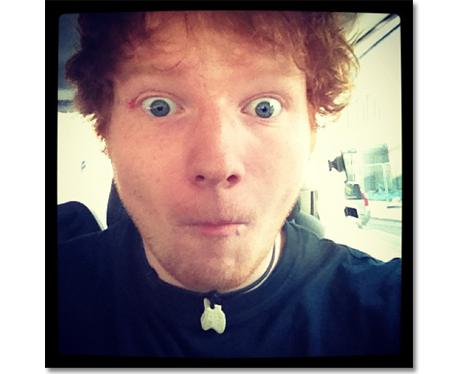 Ed Sheeran 1st Instagram