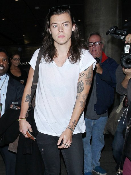 Harry Styles Los Angeles International Airport