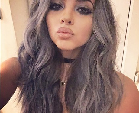 Jade from Little Mix shows off new grey hair colou