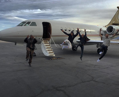 Justin Bieber Private Plane Instagram