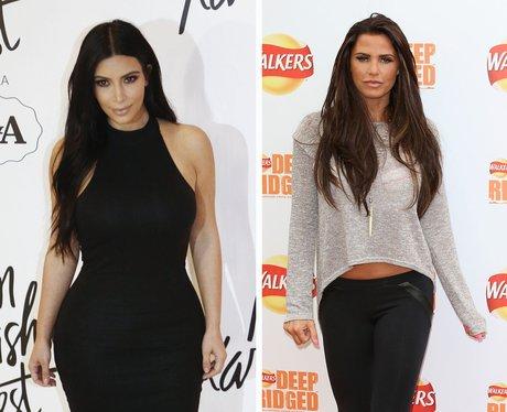 Kim Kardashian Katie Price