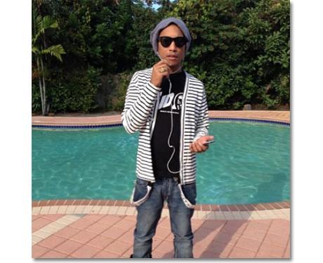 Pharrell 1st Instagram