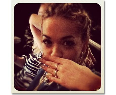 Rita Ora 1st Instagram