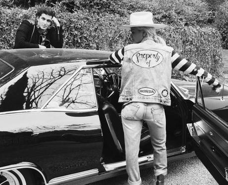 Rita Ora Double Denim Instagram
