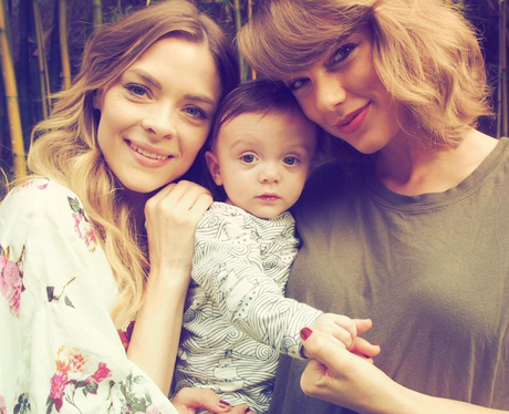 taylor swift godmother instagram