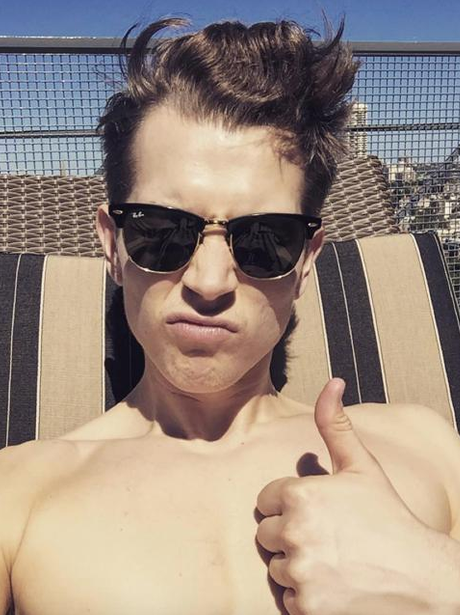 The Vamps James McVey Holiday Instagram