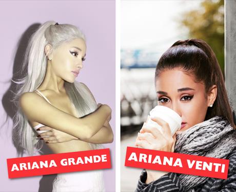 Celebrity Names Puns - Ariana Grande