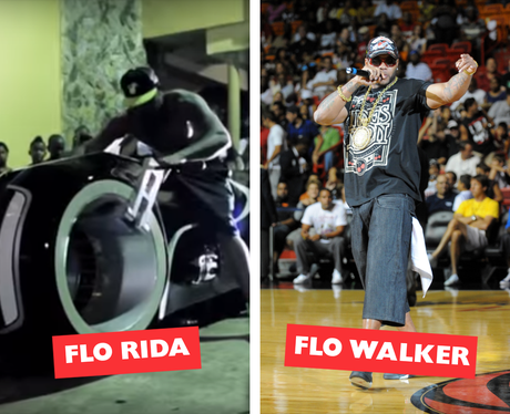 Celebrity Names Puns - Flo Rida