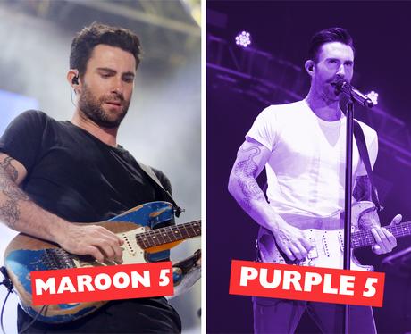 Celebrity Names Puns - Maroon 5