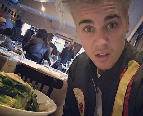 Justin Bieber Dinner Instagram