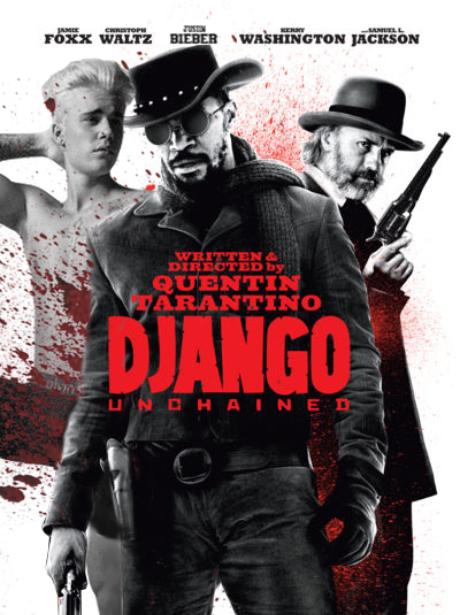 Justin Bieber In Django Unchained