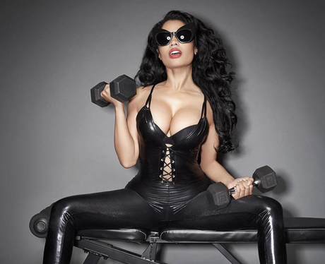 Nicki Minaj Workout Shoot Instagram