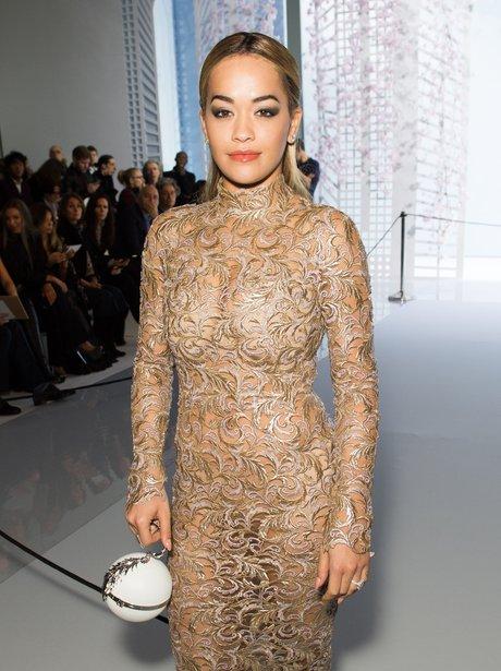 Rita Ora Paris Fashion Week