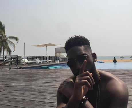 Tinie Tempah Holiday Lagos Instagram