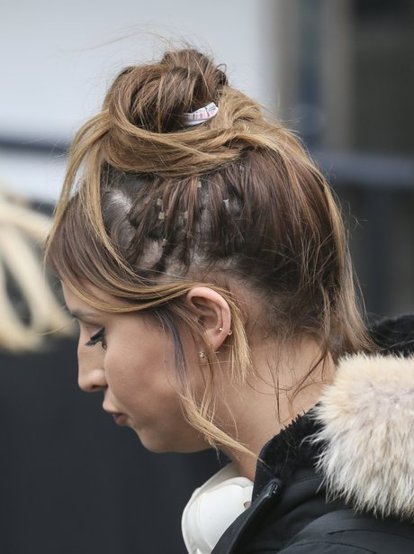 Ferne McCann Hair Extension Fail