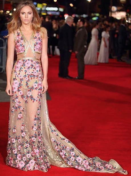 Suki Waterhouse at premiere of new film, Pride and