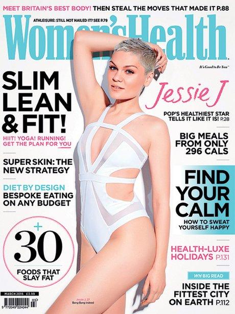 Jessie J looks amazing on Women's Health cover