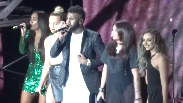WATCH: Little Mix Joined Jason Derulo On Tour And Pretty