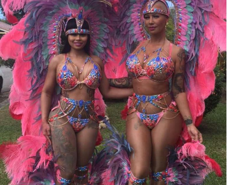 Blac Chyna and Amber Rose wear lavish outfits