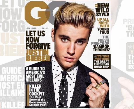 Justin Bieber GQ Cover
