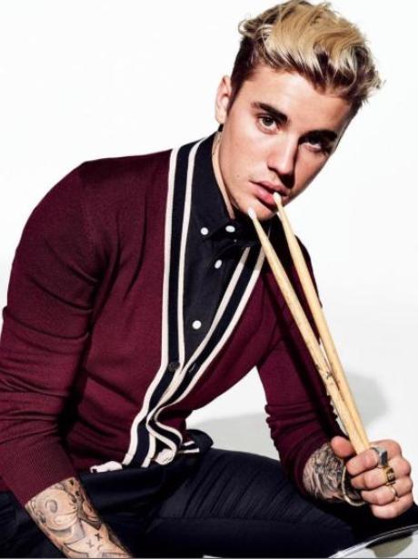 Justin Bieber GQ