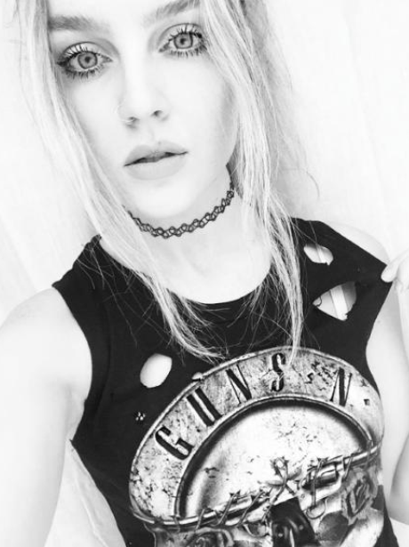Perrie Edwards Guns N Roses