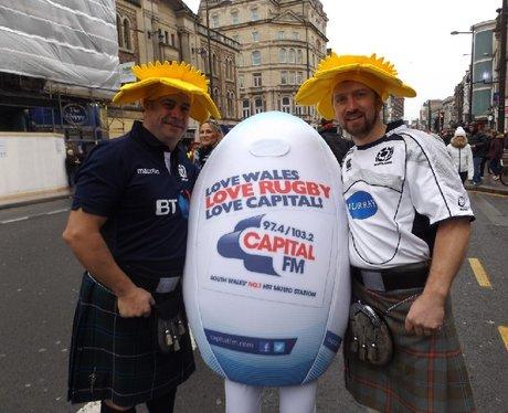 Spot the Ball - Wales v Scotland