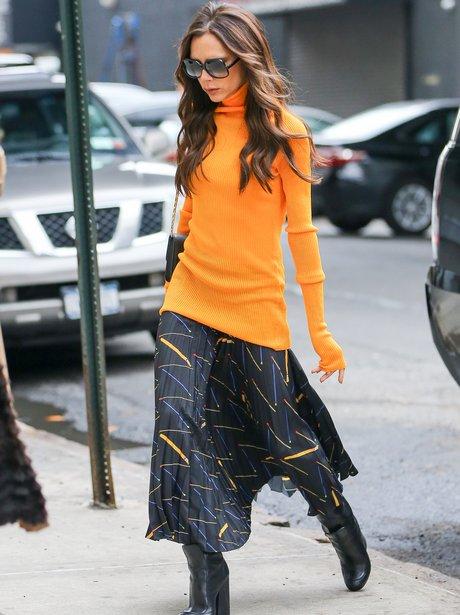 Victoria Beckham in New York City