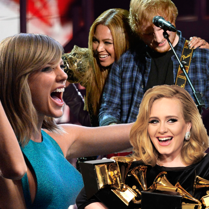 best grammy award moments