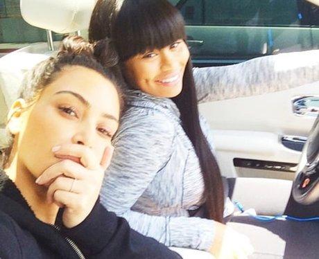 Blac Chyna No Make-Up Instagram