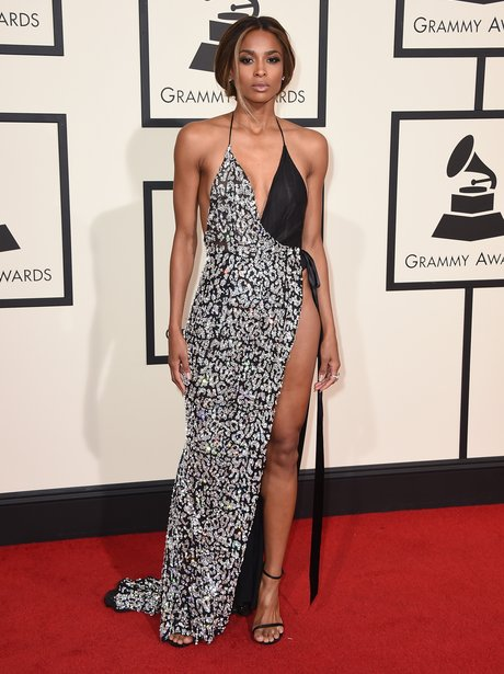 Ciara at the Grammy Awards 2016