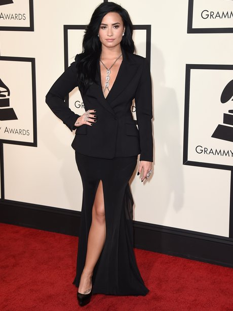 Demi Lovato at the Grammy Awards 2016