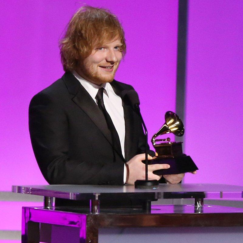 Ed Sheeran GRAMMY Awards 2016