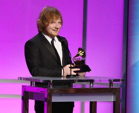 Ed Sheeran wins at the Grammy Awards 2016