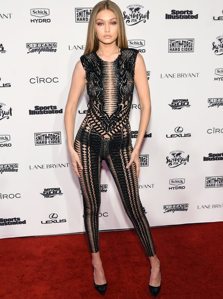 Gigi Hadid looks incredible at Sports Illustrated launch