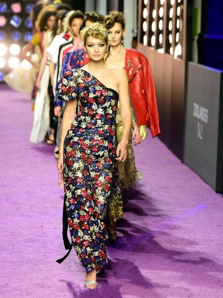 Gigi Hadid walks Zoolander 2 runway premiere