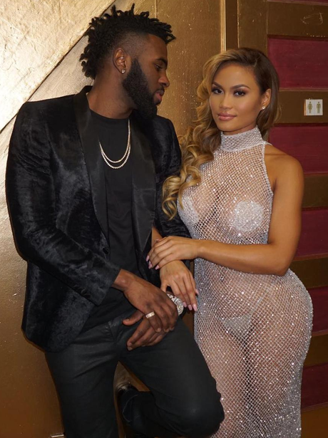 Jason Derulo Daphne Joy New York Fashion Week
