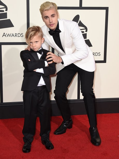 Justin Bieber at the Grammy Awards 2016