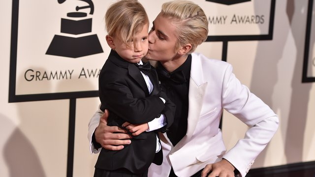 Justin Bieber's Little Brother Jaxon Stole The Show (And Our